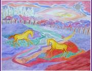 Akvarel - 40x30cm