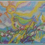Pastel - 60x50cm