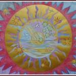 Akvarel + gouache 50x40cm
