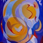 Akryl på lærred - 100x120cm