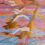 Akvarel - 50x40cm
